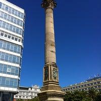 Photo taken at Obelisco by Jorge P. on 7/17/2012