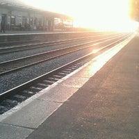 Photo taken at Leamington Spa Railway Station (LMS) by John E. on 3/24/2012