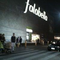 Photo taken at Falabella by Karen O. on 5/13/2012