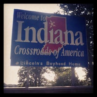 Photo taken at Ohio / Indiana - State Line by the simple g. on 5/20/2012