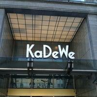 kaufhaus des westens kadewe department store in sch neberg. Black Bedroom Furniture Sets. Home Design Ideas