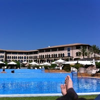 Photo taken at The St. Regis Mardavall Mallorca Resort by ozzy c. on 8/26/2011