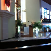 Photo taken at Gereja Kristus Salvator by Lisa L. on 4/17/2011