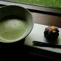 Photo taken at 日本庭園茶室 彩翔亭 by Kiyoshi K. on 5/4/2012