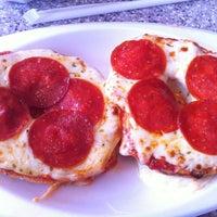 Photo taken at Chesapeake Bagel Bakery by Jim R. on 2/21/2012