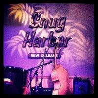 Photo taken at Snug Harbor Jazz Bistro by Davepbass on 8/19/2012