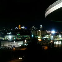 Photo taken at Radisson Hotel Cincinnati Riverfront by Bryan H. on 10/29/2011