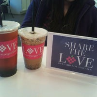 Photo taken at LOVE Frozen Yogurt Bar by E- C. on 12/18/2011