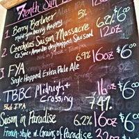 Photo taken at 7venth Sun Brewery by Blake C. on 1/20/2012