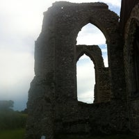 Photo taken at Leiston Abbey by Ian P. on 6/23/2011