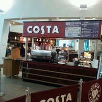 Photo taken at Costa Coffee by Dave B. on 1/29/2012