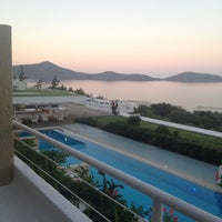 Photo taken at Porto Elounda Golf & Spa Resort by Наталья А. on 6/10/2012