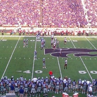 Photo taken at Bill Snyder Family Stadium by Seymour on 9/4/2011