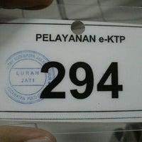 Photo taken at Kantor Kelurahan Jati by Steven E. on 12/12/2011