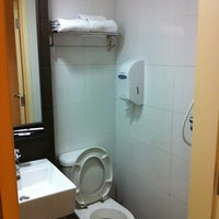 Photo taken at Value Hotel Balestier by Chris W. on 7/28/2011