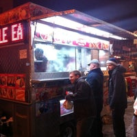 Photo taken at Halal Food Stand (across from Pizza Wagon) by James C. on 1/22/2011
