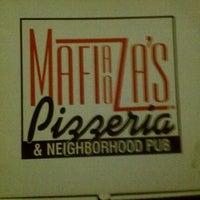 Photo taken at Mafiaoza's Pizzeria & Neighborhood Pub by Mark K. on 8/28/2011