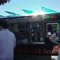 Photo taken at Kabob N' Roll Truck by Tai on 7/11/2011