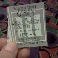 Photo taken at Marcus Hollywood Cinema by Breanna P. on 10/23/2011