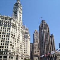Photo taken at Wrigley Building by Rob W. on 7/14/2012
