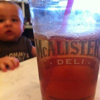 Photo taken at McAlister's Deli by Chris A. on 6/26/2012