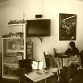 Photo taken at BikeCafe by Aekmugen P. on 10/17/2011