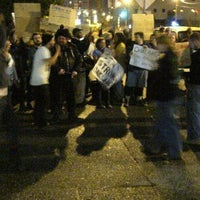 Photo taken at #OccupyPittsburgh by Don C. on 12/23/2011