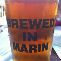 Photo taken at Marin Brewing Company by Josh D. on 7/21/2011
