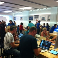 Photo taken at Apple Bluewater by Kelley D. on 10/24/2011