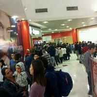 Photo taken at Cinemark by Thiago V. on 4/30/2012