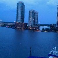 Photo taken at Hyatt Regency Jacksonville Riverfront by Russell A. on 10/8/2011