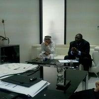 Photo taken at Abu Dhabi Media by Shane R. on 9/22/2011