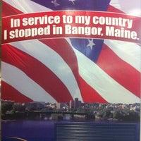 Photo taken at Bangor International Airport (BGR) by Jesse H. on 10/14/2011