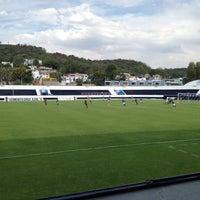 Photo taken at Estadio 10 de Diciembre by Karen M. on 4/20/2012