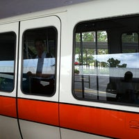 Photo taken at Monorail Orange (Zootopia) by André D. on 8/22/2012