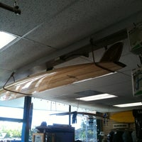 Photo taken at Freeline Design Surf Shop by Joel P. on 6/16/2012