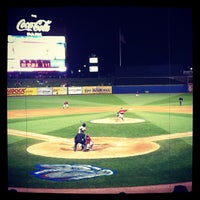 Photo taken at Coca-Cola Park by Susi N. on 4/15/2012
