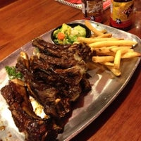 Photo taken at Texas Ribs® by Josefo G. on 7/6/2012