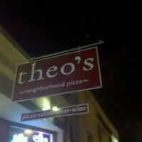 Photo taken at Theo's Neighborhood Pizza by Colin H. on 4/5/2012