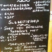 Photo taken at Soep.kom by Caroline V. on 2/9/2012