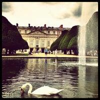Photo taken at Hampton Court Palace Hotel by Mattia M. on 8/23/2012