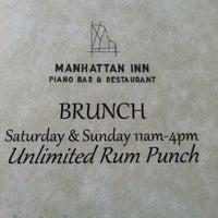 Photo taken at Manhattan Inn by Graham S. on 7/7/2012