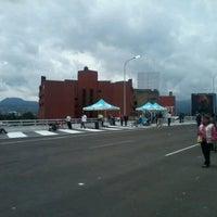 Photo taken at Distribuidor Vial Luis Cabrera by Marco S. on 8/19/2012