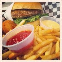 Photo taken at Bun Bun Gourmet Burger and Tea House by Ron L. on 4/6/2012