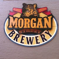 Photo taken at Morgan Street Brewery by Paige on 7/15/2012