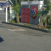 Photo taken at 76 Gas by Brigette on 3/8/2012