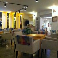 Photo taken at Cafe Bridge by Sojung K. on 3/29/2012