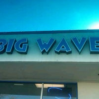 Photo taken at Big Wave Laundromat by Petra M. on 2/20/2011