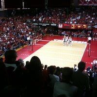 Photo taken at NU Coliseum by Brynn A. on 9/22/2011