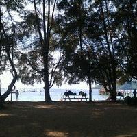 Photo taken at Manukan Island by Melissa C. on 2/6/2012